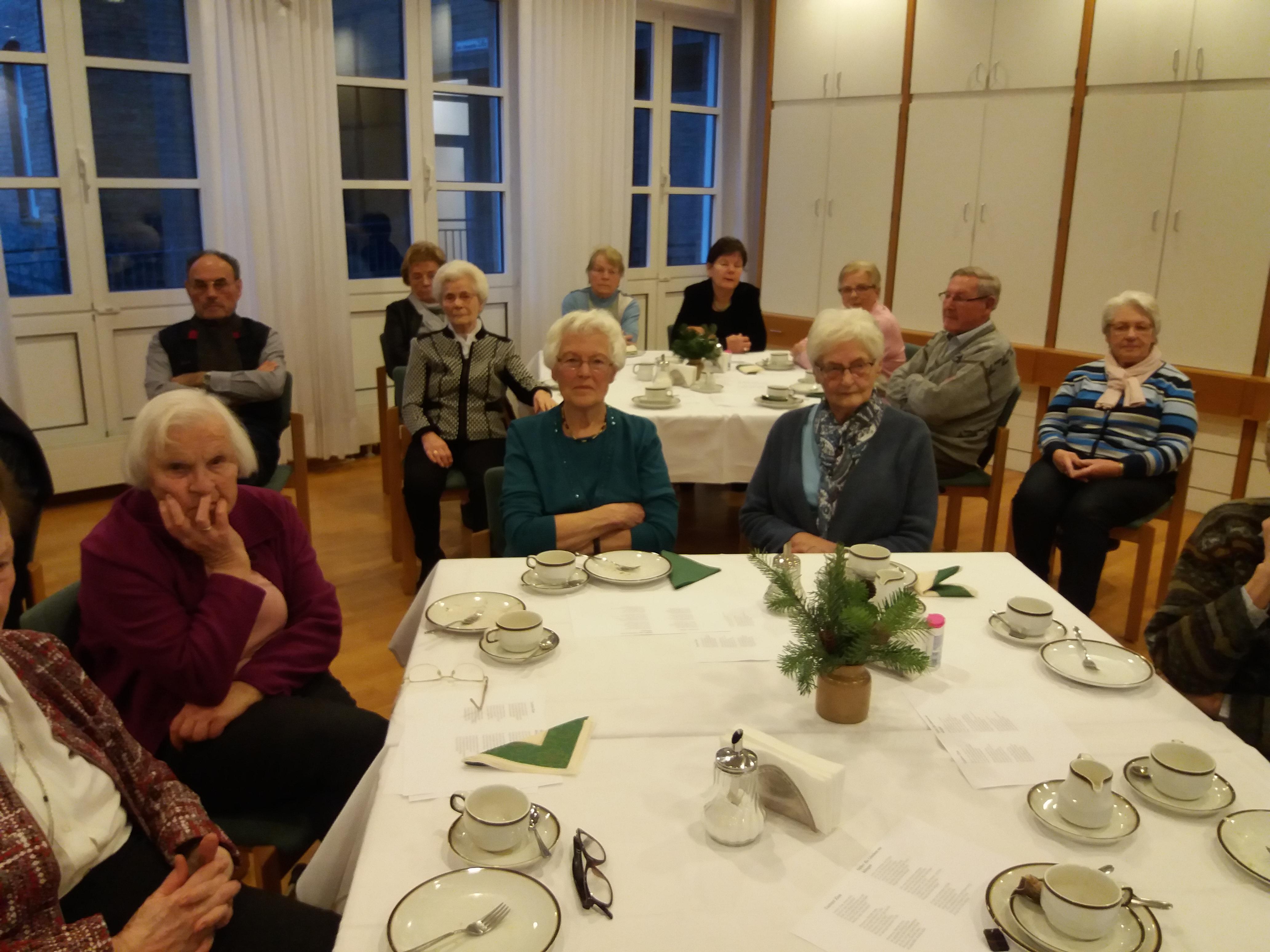 17.12.18 – Adventsfeier im Mutterhaus der Franziskanerinnen