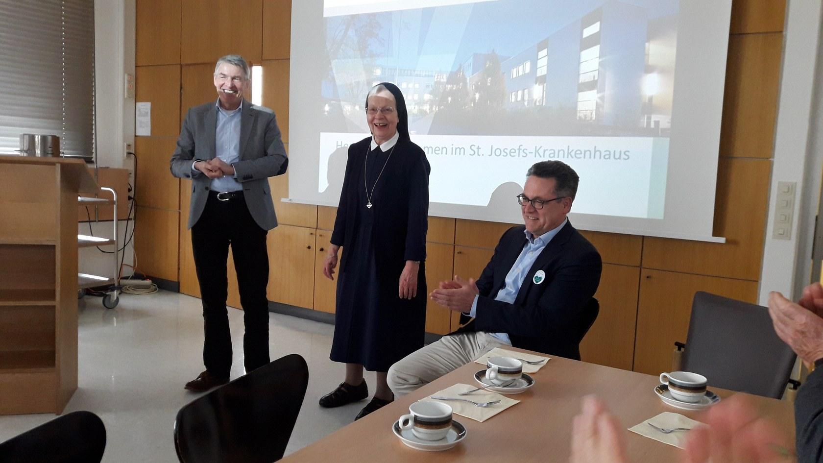 14.03.19 – Besuch des St. Josefs-Krankenhaus