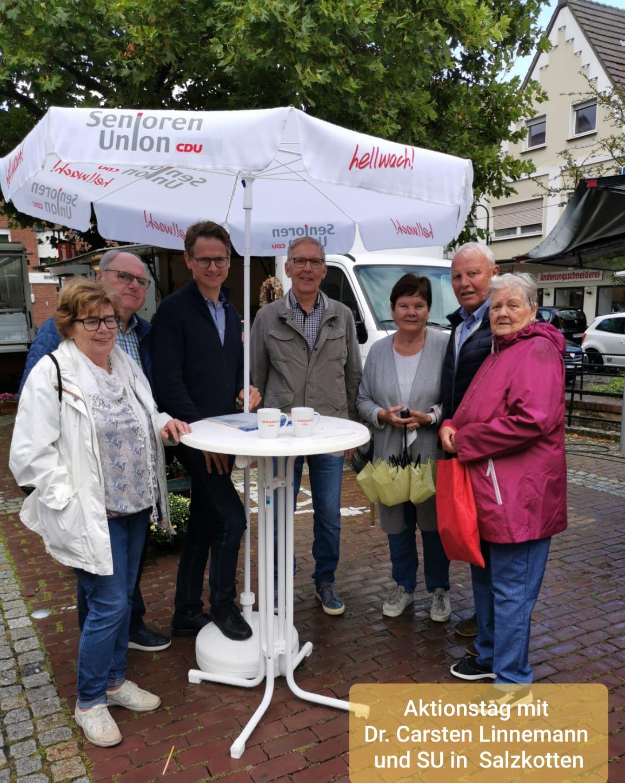 Carsten Linnemann zu Besuch in Salzkotten